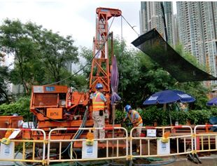 Vertical Drilling works